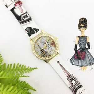Accessories - Paris themed Womens Watch 40mm NEW